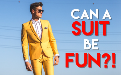 How to Have Fun in a Suit